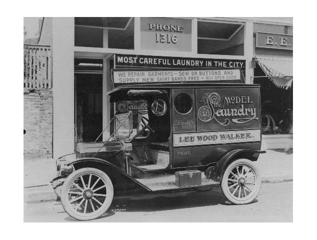 Granby Street - 1912. The Model Laundry
