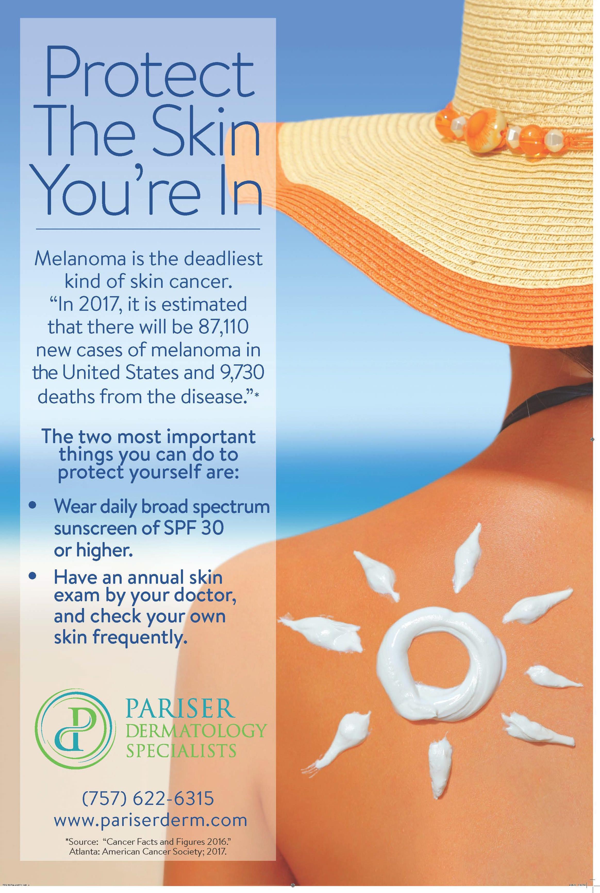 Hello, Sunshine! Hello SPF! - Pariser Dermatology