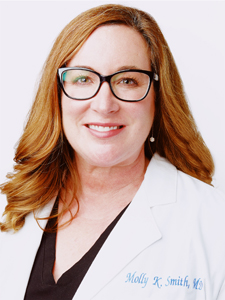 Molly K. Smith, M.D. at Pariser Dermatology in Hampton Roads